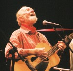 Pete Seeger - Lebanon (NH) Opera House. 12 September 2008. Photo by Amy J. Putnam